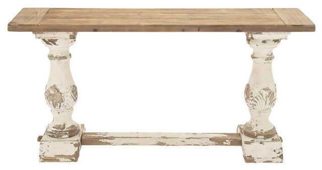 Garrison Wooden Console Table Contemporary Console Tables