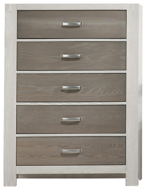 Natart Juvenile Natart Rustico Moderno 5 Drawer Dresser ...
