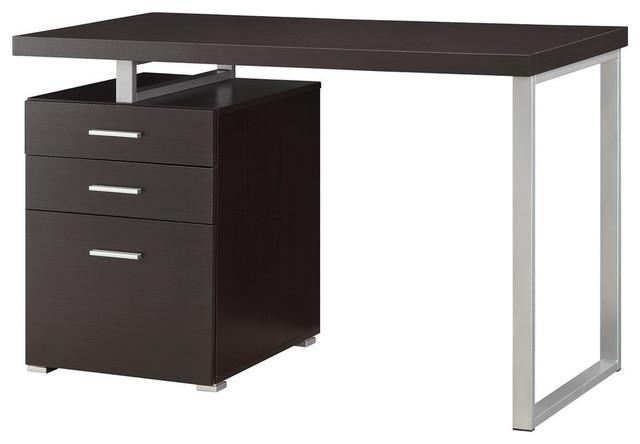 Coaster Office Desk, Cappuccino.
