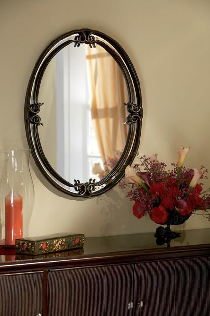Duchess Mirrors In Palladian Bronze.