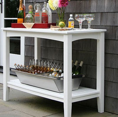 Seaside Casual Windsor Buffet Table Patio Furniture And Outdoor Furniture