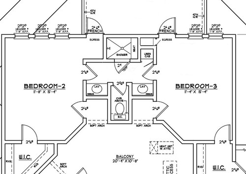 Jack and jill baths Jack and jill house plans