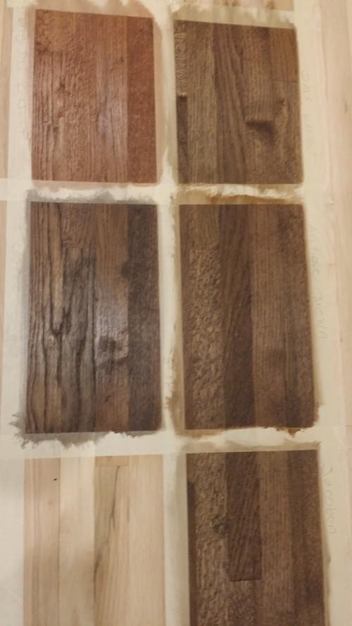 Duraseal Stains On White Oak