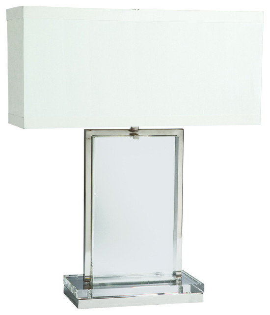 Crystal slab lamp table lamps