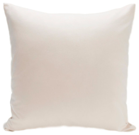 Organic Solid Canvas Cotton Pillow
