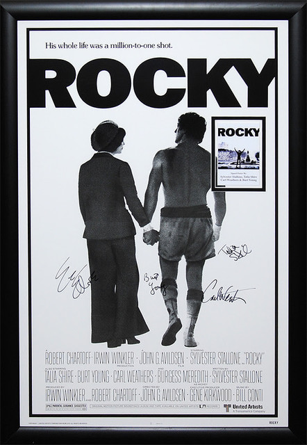 Rocky Signed Framed Poster - Modern - Prints And Posters - by Luxe ...