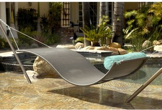Outdoor Wicker Hammock contemporary hammocks