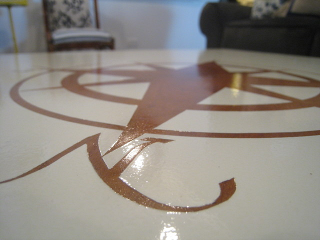 Compass Rose Reverse Stencil