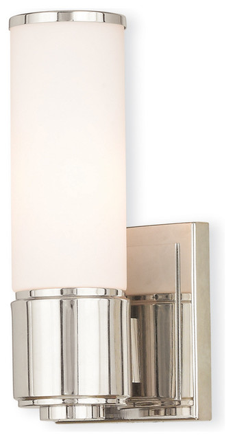 Weston 1-Light ADA Wall Sconce/ Bath Vanity - Transitional - Bathroom Vanity Lighting - by Livex ...