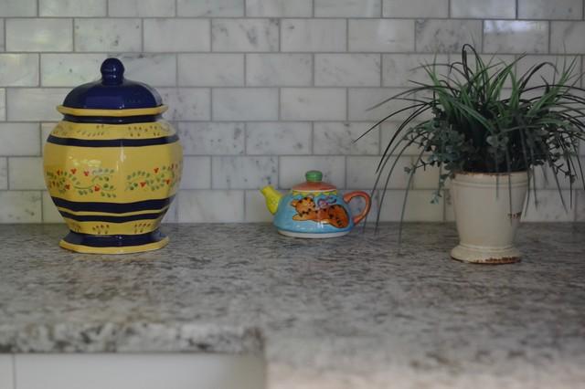 Craftsman Kitchen, Bathroom, & Living Room craftsman