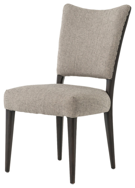 Amina Modern Classic Gray Heather Dining Chair modern-dining-chairs