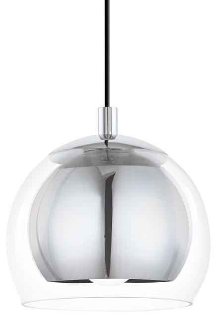 Eglo Rocamar Pendant Ceiling Light, Polished Chrome