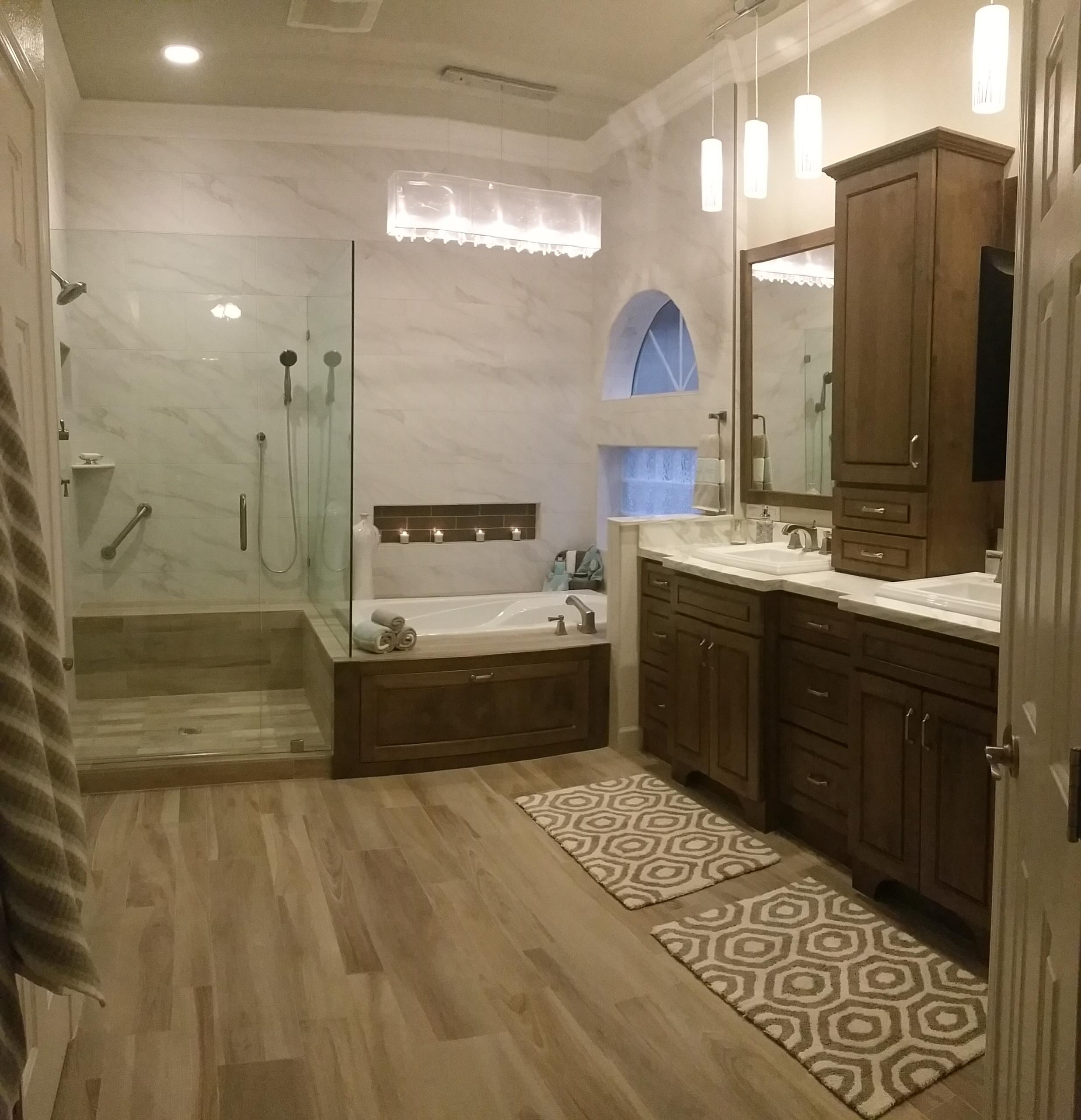 Master bath & bedroom remodel
