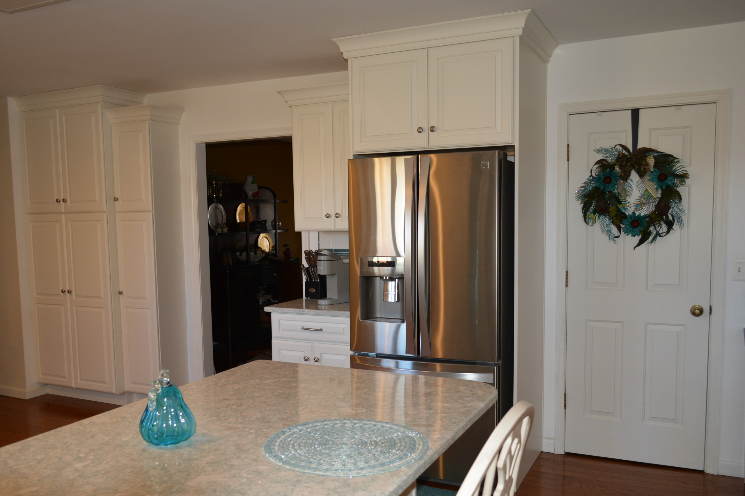 White Icing Painted Kitchen