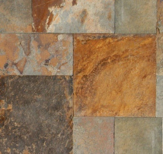 California Gold Slate : Sawn edge california gold slate paver tile