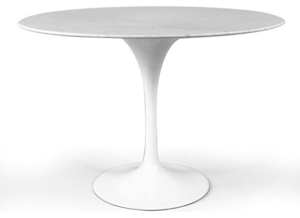 Marble Round Dining Table 36 Midcentury Dining Tables By Mid Mod