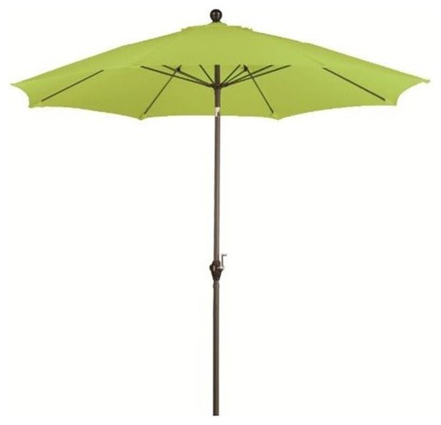 March Products Alus908117-P29 Wind Resistance Umbrella, Lime Green, 9&x27;.