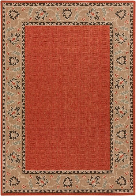 Indoor Outdoor Area Rug Alphonse Collection Traditional