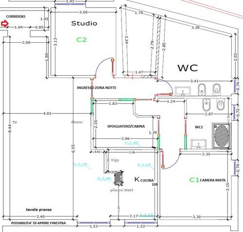 Aiuto progetto mansarda 98 100mq - Progetto casa 100 mq ...