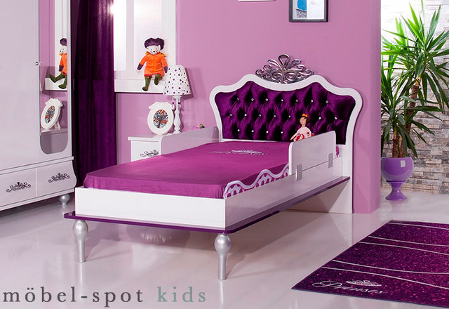 kinderbett anastasia lila modern frankfurt am main von m bel spot. Black Bedroom Furniture Sets. Home Design Ideas