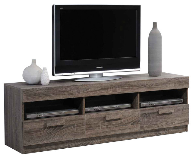 Acme Furniture   Alvin TV Stand, Rustic Oak   Entertainment Centers And Tv  Stands