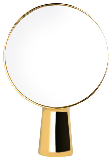 Moustache Cyclope Mirror, Gold.