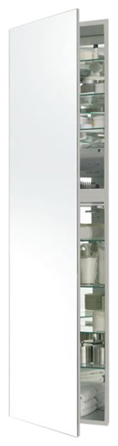 "M Series 19.25""x4"" Cabinet, Left, White."