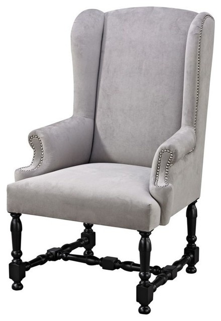 Neville Armchair Black Navy Modern Armchairs And
