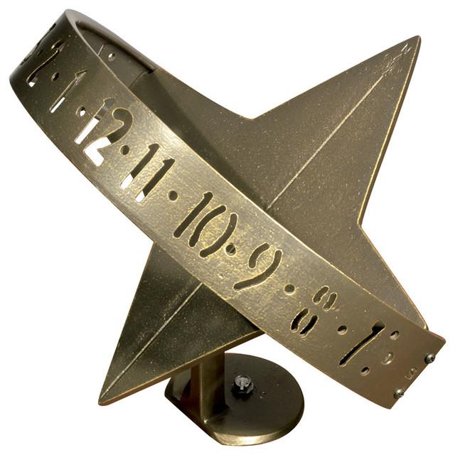 sun clock sundial french bronze sundials - Whitehall Products