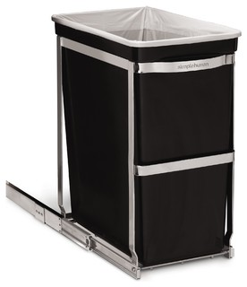 Simplehuman Under Counter Pull Out Trash Can Modern