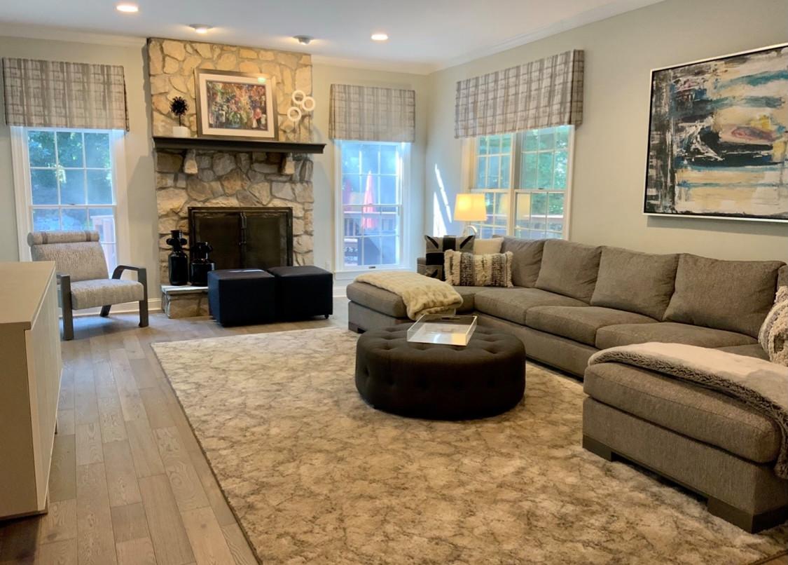 Cozy Modern Family Room