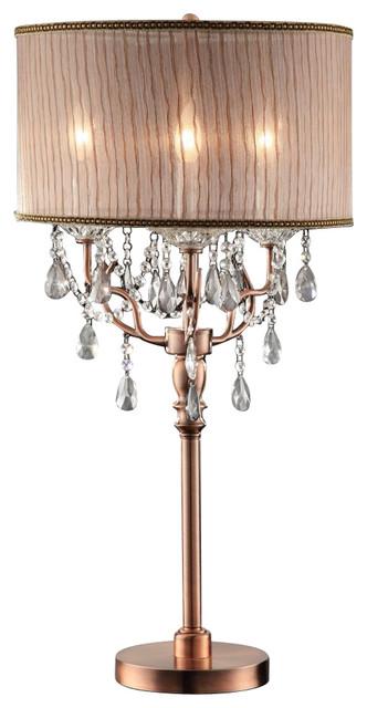 Rosie Crystal Table Lamp.