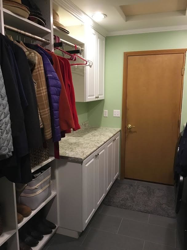 Closet- White Cabinets