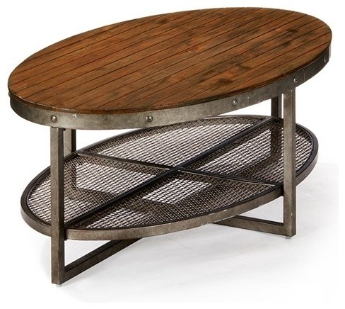 Sheridan Coffee Table, Brown.
