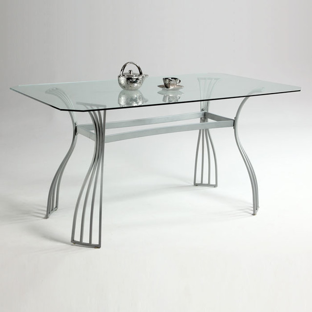 aileen rectangular glass dining table modern dining tables new