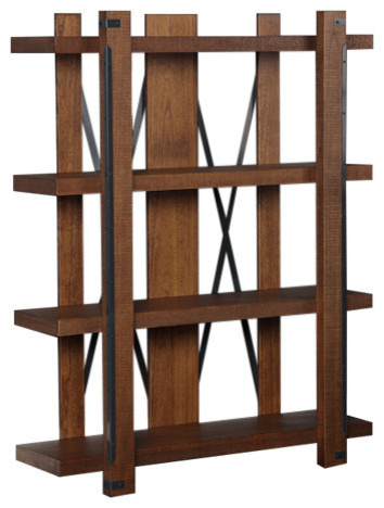 Industrial Collection 4 Shelf 60 Bookcase.