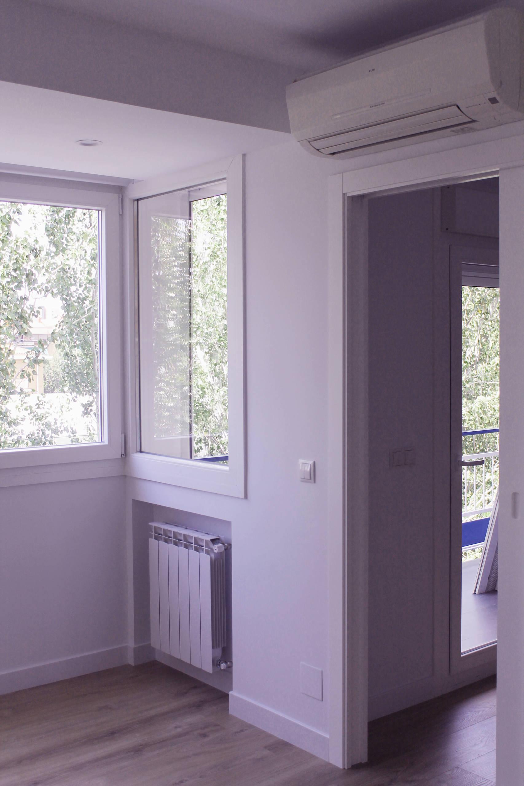 Ampliación apartamento 70m2 Ciudad Lineal - Madrid