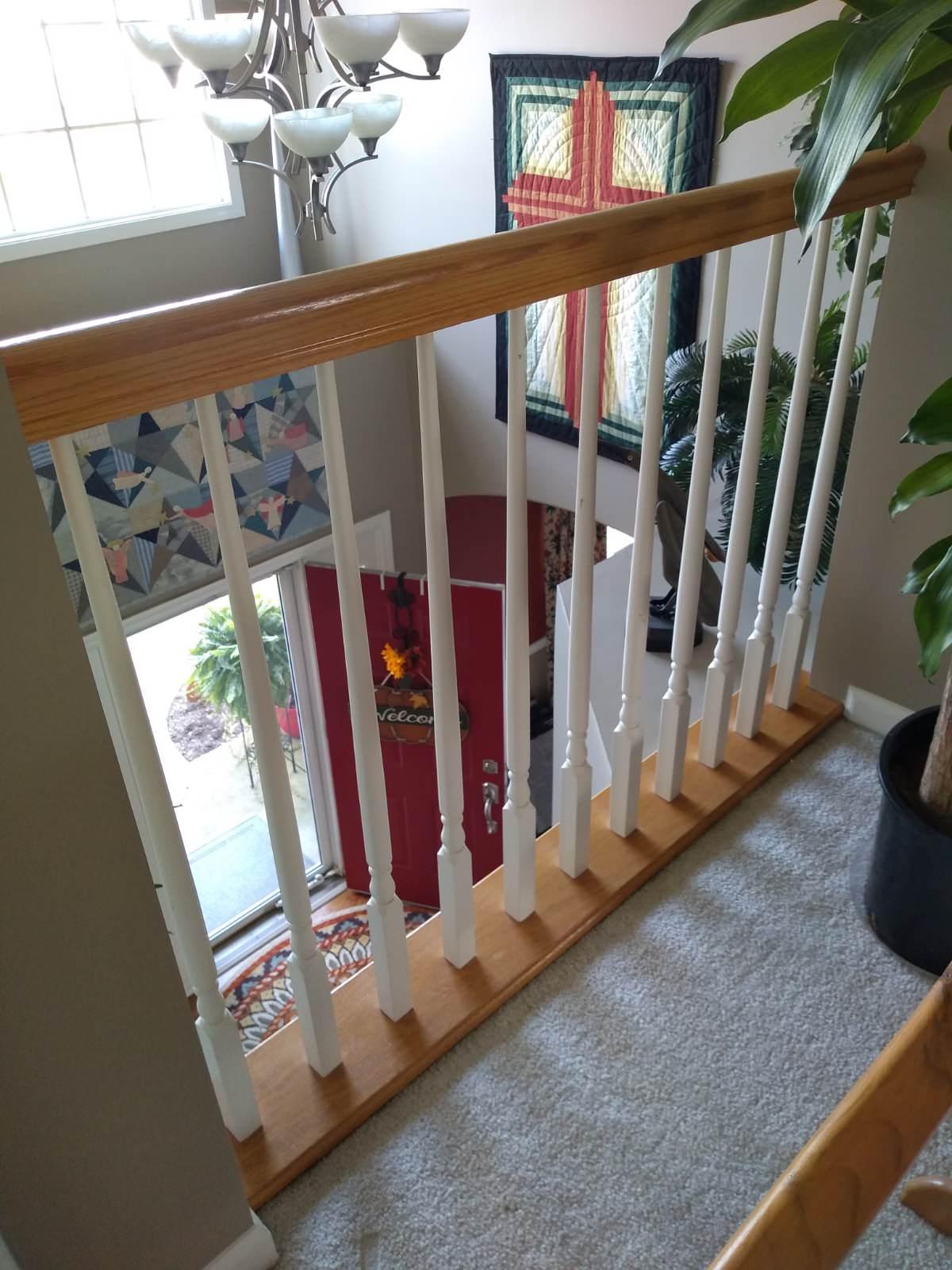 Designer custom diamond staircase