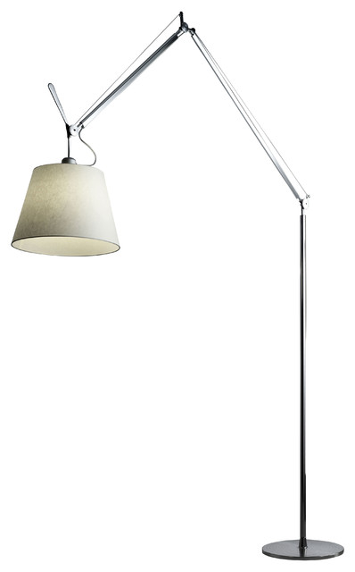 Tolomeo Mega Floor lamp - H 148 to 327 cm by Artemide