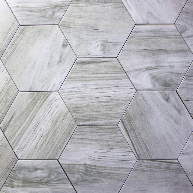 Wood Look Ceramic Plank Floor Tile
