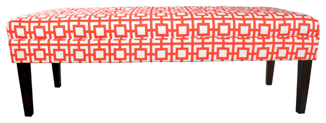 Kaya And Padded Accent Bench. -1
