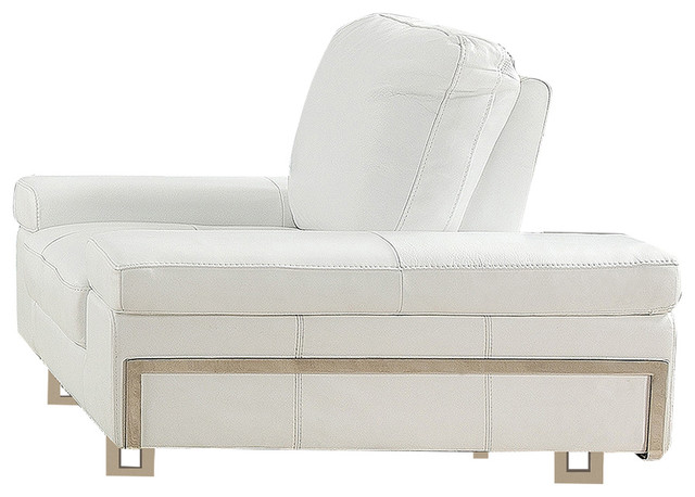 Gia White Chair by at home USA inc.