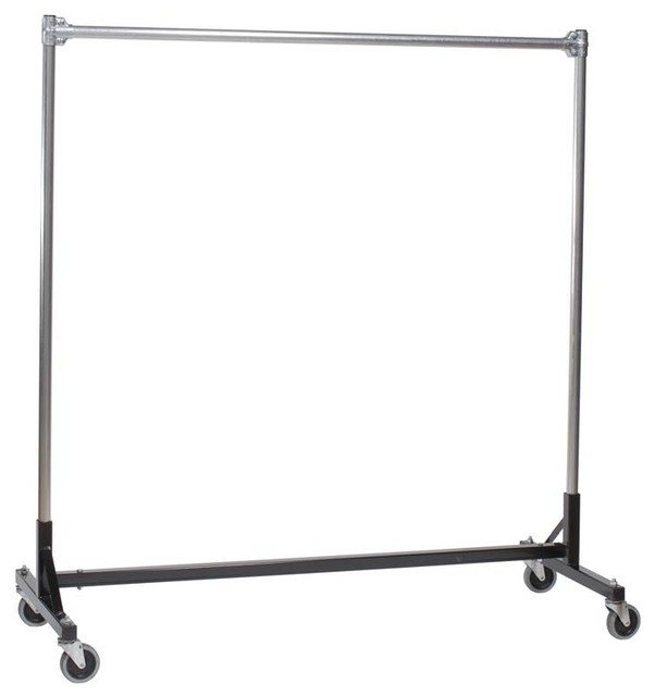 Heavy Duty H-Rack W Single Rail And 60 In. Uprights.