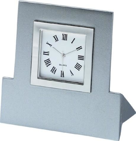 Visol Frame Metal Desk Clock Contemporary Desk And Mantel Clocks