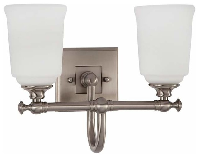 Park harbor phvl2122 antonio 2 light bathroom fixture for Traditional bathroom vanity lights