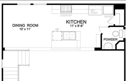 10x11 Dining Room Not Fully Open Or Close