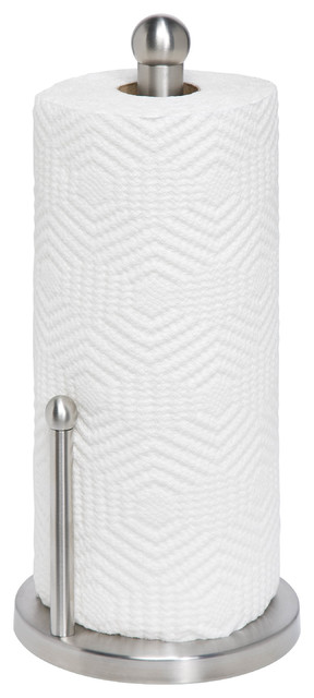 Stainless Steel Paper Towel Holder - Paper Towel Holders - by Honey Can Do