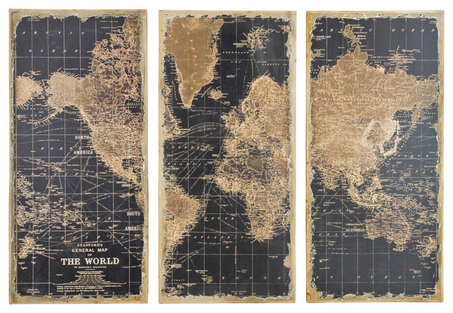Atlas 3-Piece Wall Panels Set