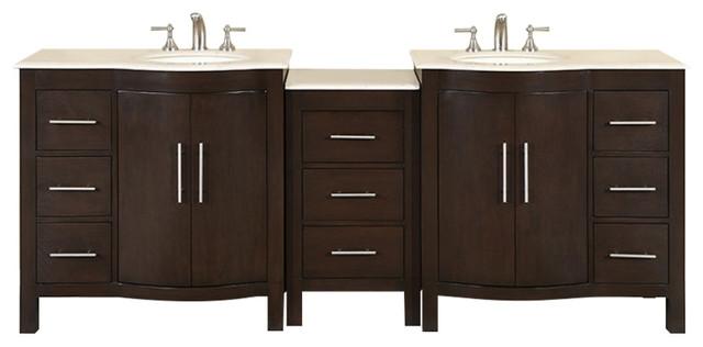 89 Modern Double Bathroom Vanity.