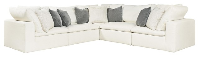 Universal Furniture Curated Palmer 3-Piece Sectional.